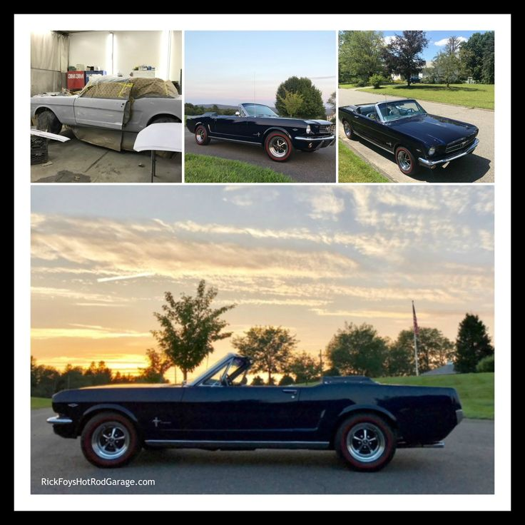 64.5 Mustang full restoration by Rick Foy.