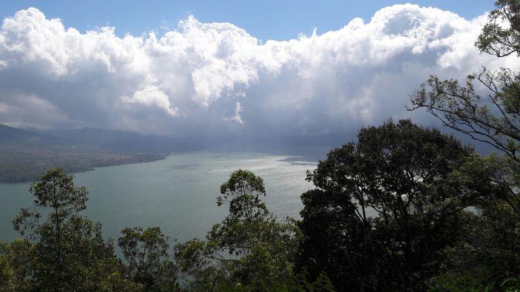 Amazing view from Kintamani, Bali