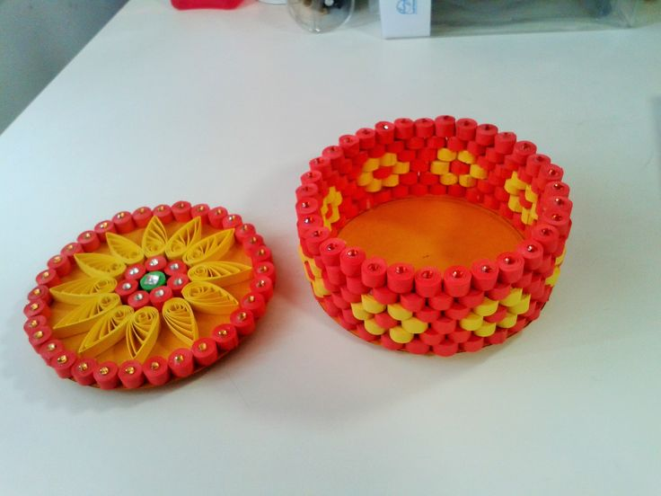 How to Make Quilling Birthday Gift Box.