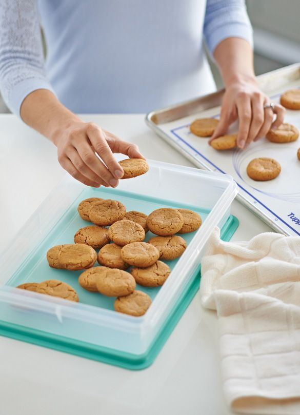 3-Ingredient Peanut Butter Cookies. In the end, the love you take is equal to the sweets you make—or something along those lines. Try our 3-Ingredient Peanut Butter Cookies baked with the Silicone Wonder® Mat (and stored in the Snack-Stor® Large Container) at your next party. Date your Consultant and bake up a good time with the gals. Www.natscleverkitchen.com