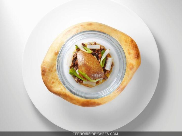 Le foie gras version asiatique par Christopher Hache, le talentueux chef du Crillon à Paris