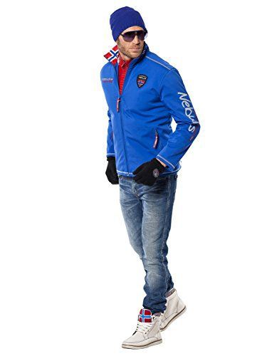 Nebulus Styler Veste polaire Homme Cobalt FR : L (Taille Fabricant : L): Tweet