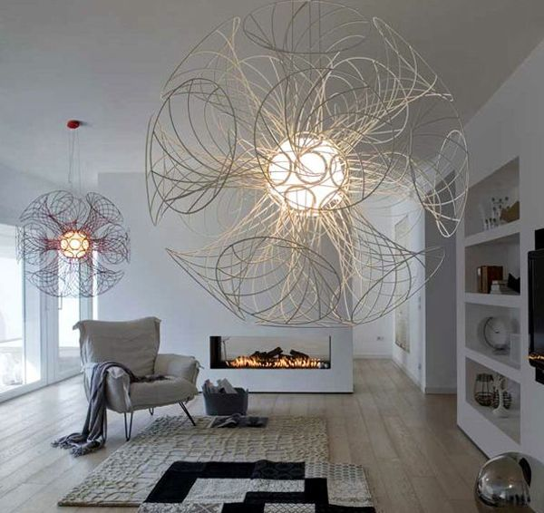 Modern Chandelier Design Features A Unique Style And Is Able To Give A  Beautiful Lighting In Idea