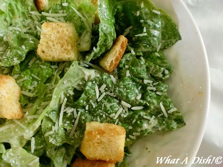 What A Dish!: Creamy Caesar Salad Dressing