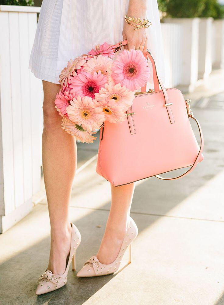 pink Kate Spade purse  kate spade New York | Spring Shopping Alert! – Sydne Style