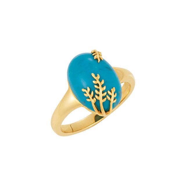 Genuine Chinese Turquoise Ring #underthesea #blue #ring #BettyWhiteJewelers #Houma