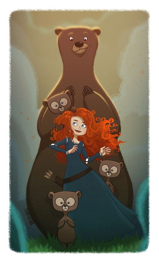17 Best Images About Busy Book Disney Brave Merida On