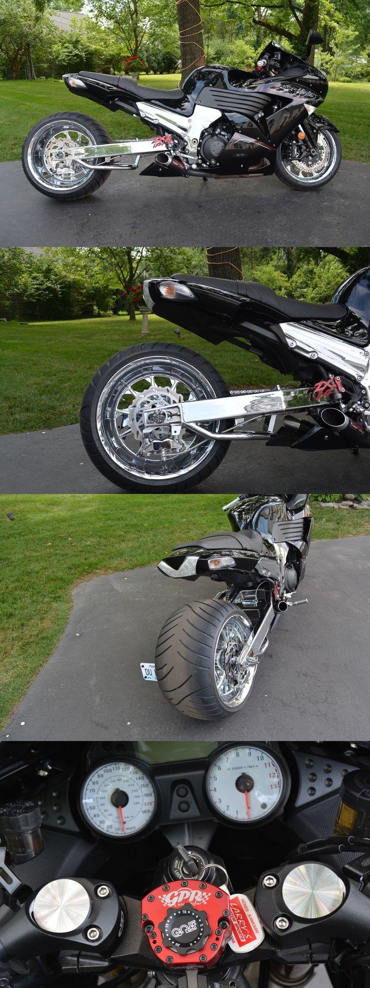 Motorcycles: 2011 Kawasaki Ninja 2011Kawasaki Ninja 1400 330 Fat Tire Bike -> BUY IT NOW ONLY: $14900 on eBay!