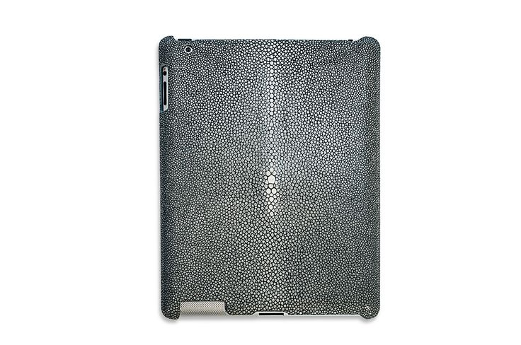 iPad Hard Cover Shagreen Leather #FoglizzoLeather #leather