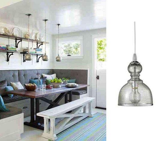 Kitchen Nook Lighting: Get The Look: Kitchen Nook Lighting