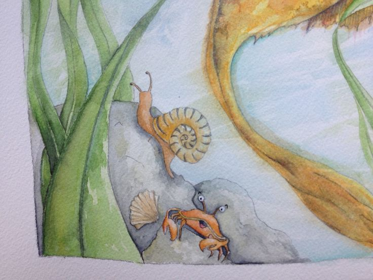 Children's book illustration by Tamalia Reeves-Pyke