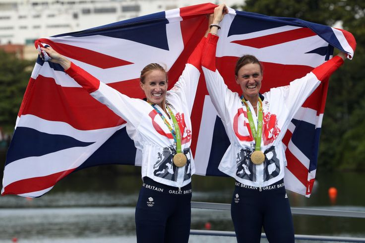 Helen Glover and Heather Stanning: Gold in women's pair (12 August) - because Army women are strong and unstoppable!!