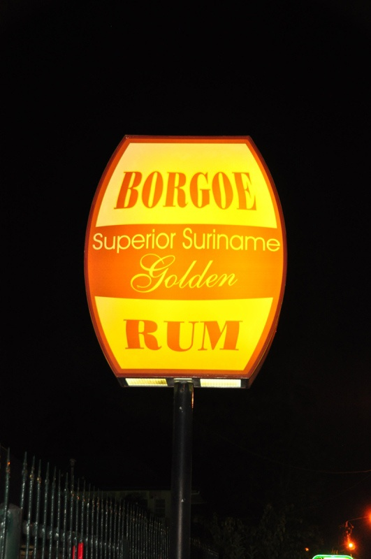 Borgoe Superior Suriname Golden Rum