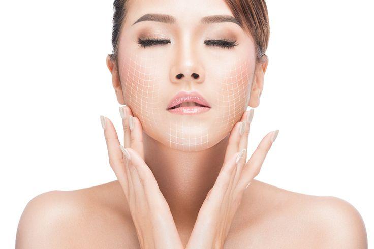CO2 Skin Resurfacing gridlines | Best CO2 Laser treatment in Ogden, Utah at TimeLess Medical Spa