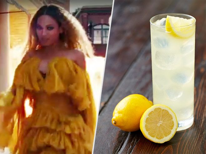A boozy lemonade recipe to celebrate Beyonce's much-buzzed-about Lemonade special on HBO
