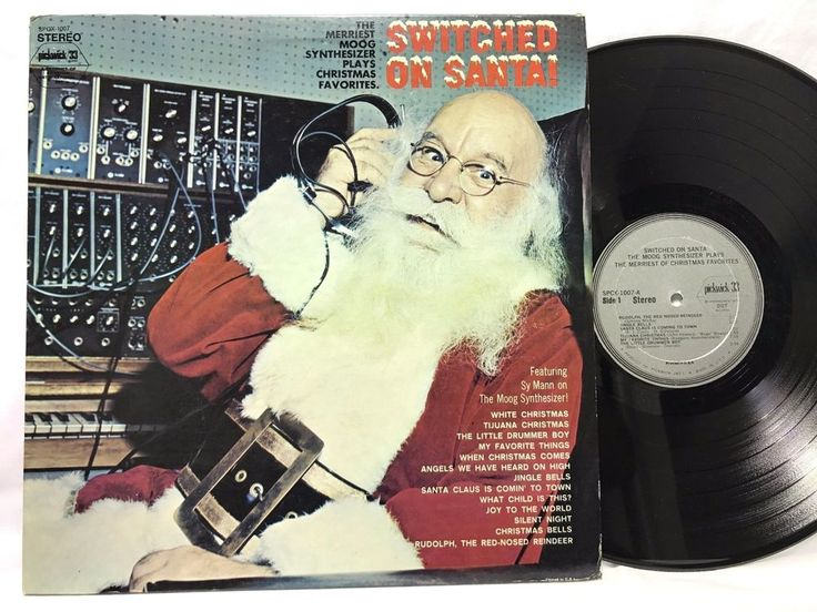 Sy Mann Switched on Santa! Moog Synthesizer #Christmas LP Vinyl Record