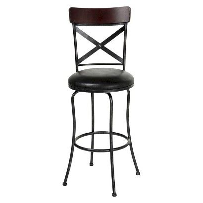 fashion bed group austin bar stool black f