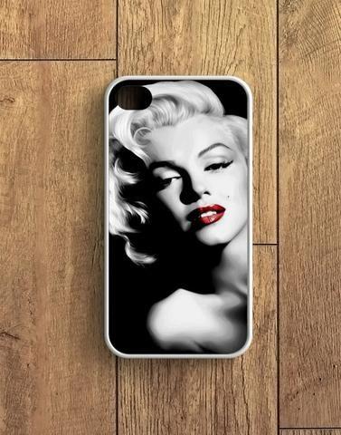 Red Lips Marilyn Monroe American Model iPhone 4 | 4S Case
