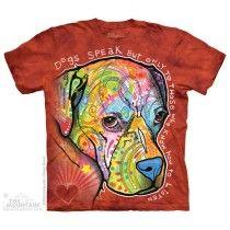 The Mountain, Dog's Speak felnőtt rövidujjú 3D amerikai póló