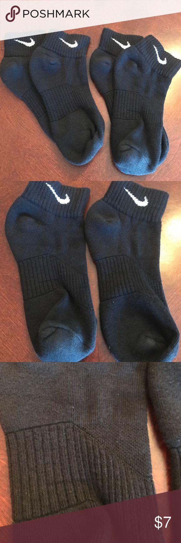 NWOT set of 2 boys Nike socks in black NWOT set of 2 boys Nike socks in black. Ankle socks. Never worn Nike Accessories Socks & Tights