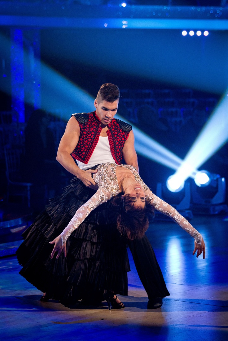 Louis Smith and Flavia Cacace - Strictly Come Dancing Week 8 - Nov 2012