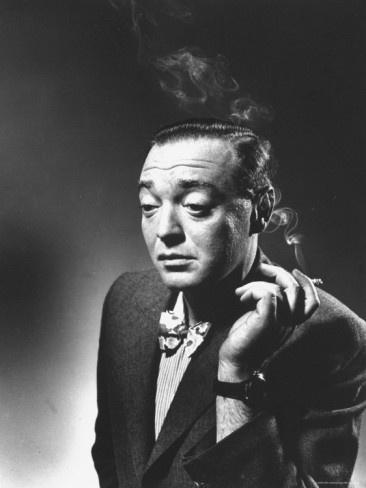 "Peter Lorre by Gjon Mili. Publicity shot for 'Stranger on the Third Floor' (1940), deemed the first ""film noir""."