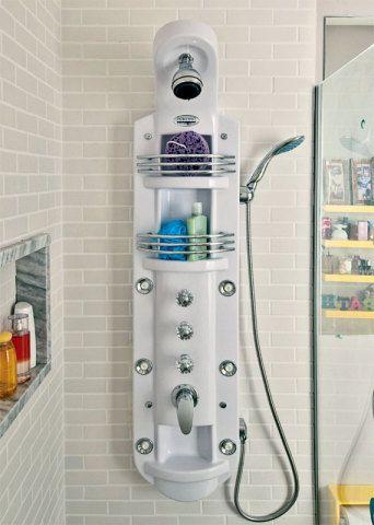 Banheiro com hidromassagem vertical por 10 de R$ 286