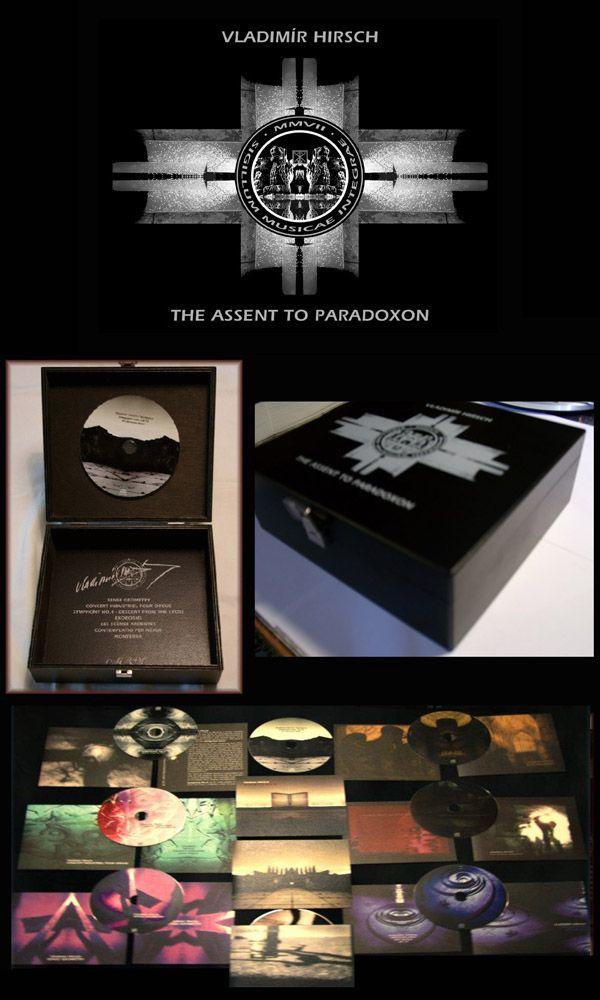 Vladimír Hirsch / The Assent To Paradoxon - collection of works (8 CDs box-set, 2010)