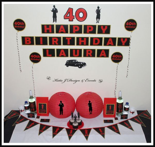 Mega Party Pack #1920s #Gangster #Fapper #18th #21st #30th #HensNight #BacheloretteParty #ladies #PartyDecorations #Heels #Martini #GirlsNightOut #Hens #Night #Bachelorette #Divorce #Birthday #Bunting #Party #Decorations #Ideas #Banners #Cupcakes #WallDisplay #Wine #Labels #PartyBags #Invites #KatieJDesignAndEvents #Personalised #Creative