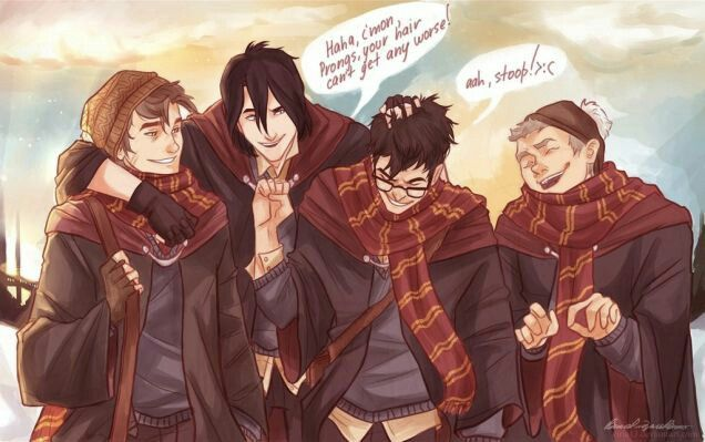 Moony Padfoot Prongs Wormtail
