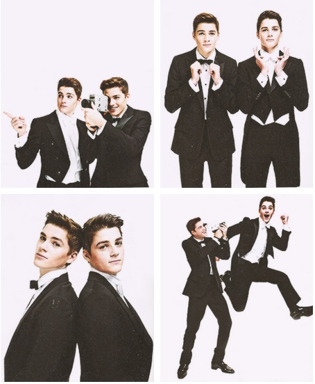 Jack and Fin Harries I guess you could call these actors <3
