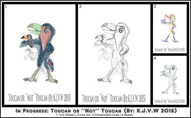 https://flic.kr/p/CADNi1 | Toucan or ´´Not´´ Toucan 5 | (In Progress) This is the first time (besides some animal crossing art) that i did a practice at Furry/Anthro Art.