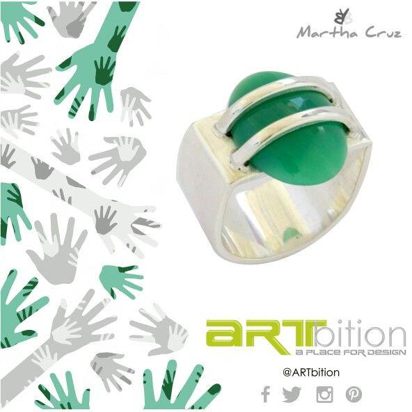 #joyeria de @bymarthacruz que enamora. Encuentra este y más complementos en #ARTbition Store Ciudad Jardín #Cali #Mayo #Exclusivo #Elegante #TalentoColombiano #accesorios #DiseñosUnicos #fashion #Femenina #girl #Joyería #creaciones #anillo #complementos #jewelrydesign