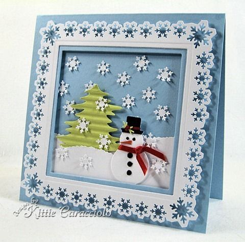 Love snowflake and snowman crafts!