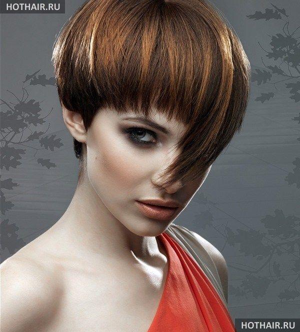 Мелирование на короткие стрижки волосы 67