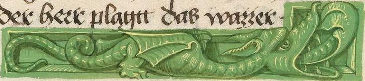 Furtmeyr-Bibel (Deutsche Bibel, Altes Testament, Bd. 1: Genesis - Rut) um 1468 - 1470 Sign. Cod.I.3.2.III (Oettingen-Wallersteinsche Bibliothek) Folio: 47v