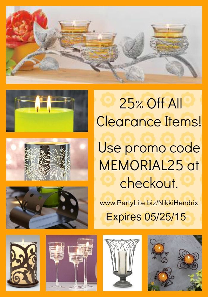 Don T Forget To Decorate With Partylite Candles And Home Decor Enjoy Off The Online Outlet This Weekend Too With Promo Code At Checkout Shop Now