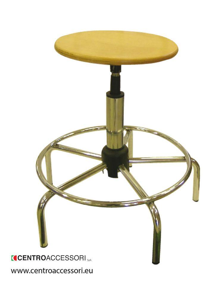 Sgabello faggio basso. Short wooden stool #CentroAccessori