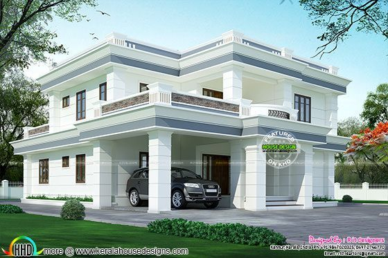 Kerala home design and floor plans: Modern house designs