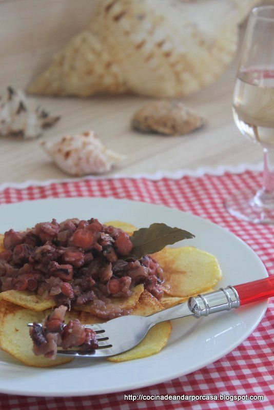 Cocina compartida: Pulpitos encebollados (Para mi hija Marta)