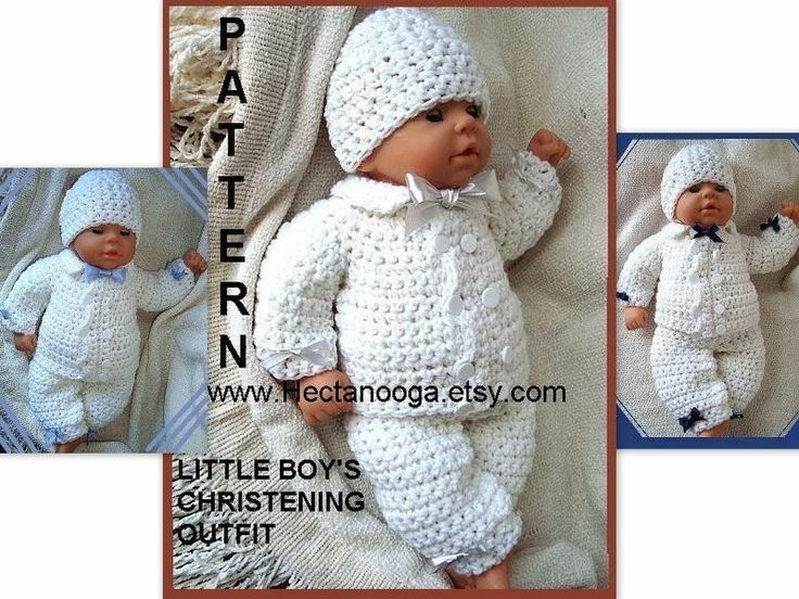 Knitting Pattern Baby Boy Christening : boy baby Christening outfit, num 226, Double Breasted ...