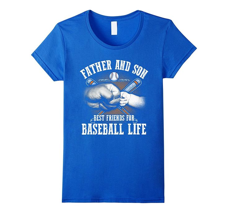 Funny Father And Son Best Friens For Baseball Life TShirt