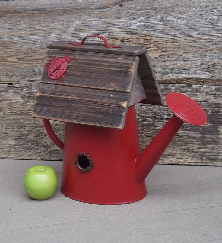 red birdhouses - Google Search