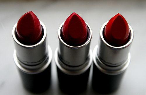 Red lipstick-MAC