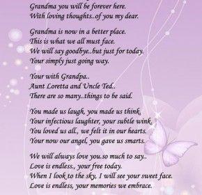 Loss Of Grandmother Quotes. QuotesGram via Relatably.com