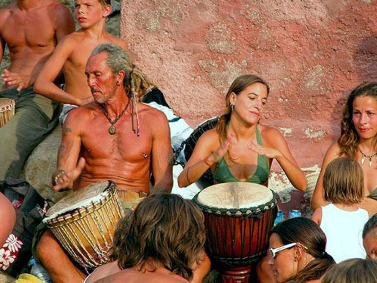 Benirrás drum party