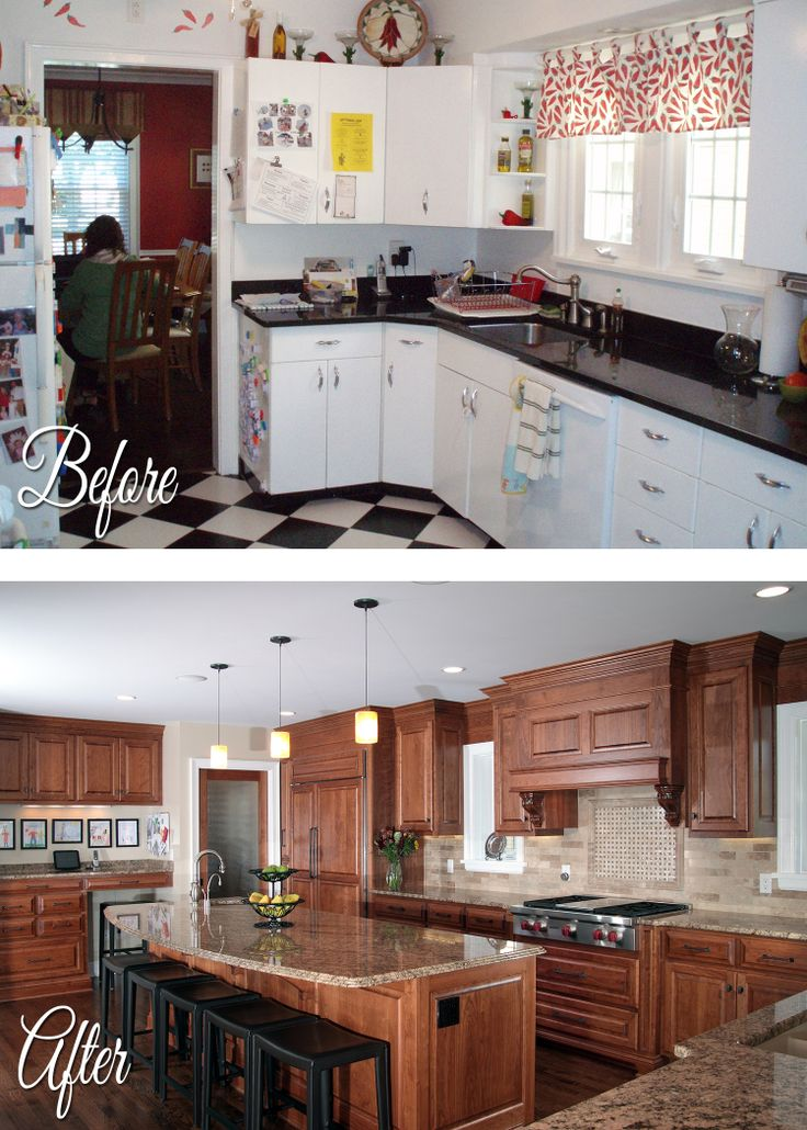 National Home Improvement Month Before/After #5   Kitchen Remodel