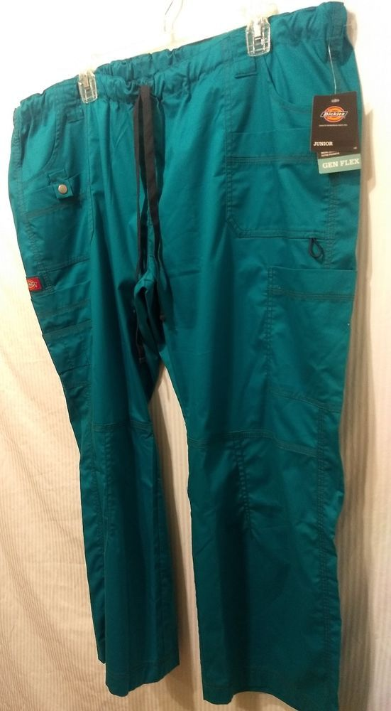 e2aca705b1a NWT DICKIES Gen Flex Fabric Size 2XL Petite Juniors Color Teal Scrub Pants  #fashion #clothing #shoes #accessories #uniformsworkclothing #scrubs (ebay  link)