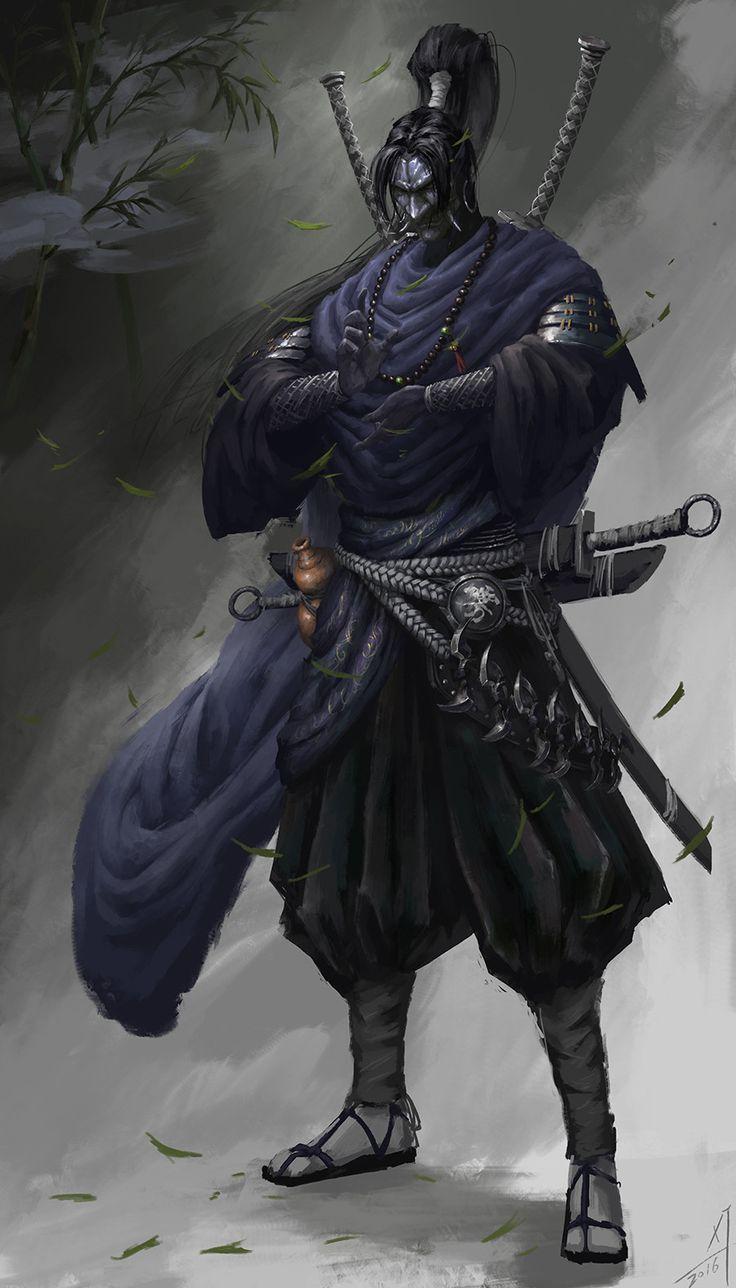 Superb martial arts of the Ninja