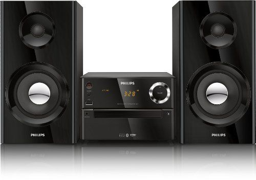 Philips BTM2180/37 Micro Music System (Black) (Discontinued by Producer) Enrich your sound expertiseView bigger Wealthy and Highly effective Sound with Wi-